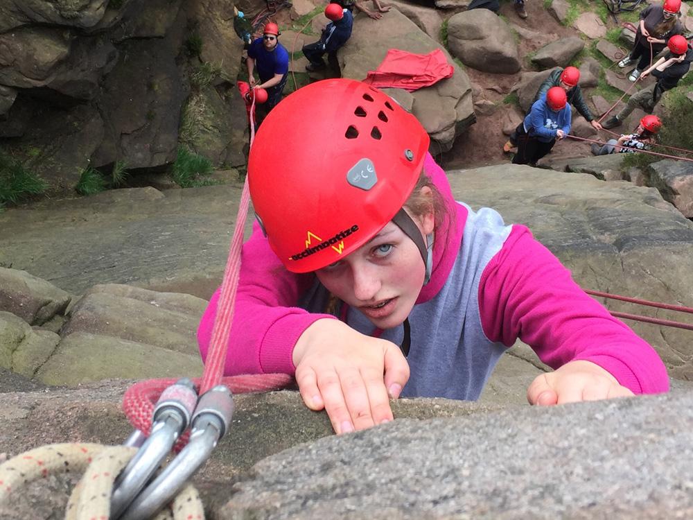 Rock Climb outdoor activity