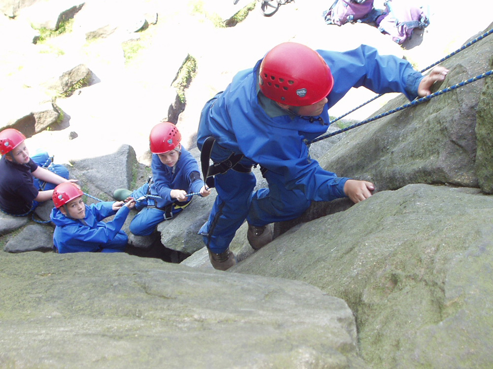 Youth Rock Climbing activities