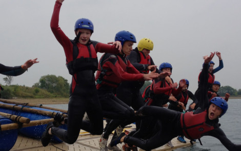 Raft Building, Canoeing and Kayaking