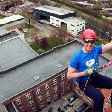 Sponsored Abseiling